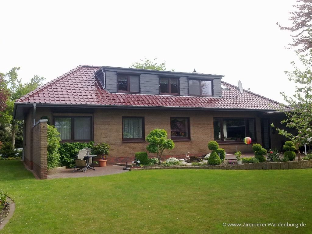 Nachher: Dachumgestaltung mit Energieberatung Zimmerei Karsten Roßkamp Wardenburg LK Oldenburg