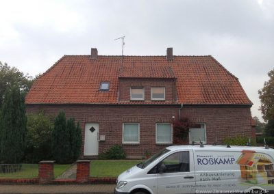 Vorher: Dachsanierung Einfamilienhaus