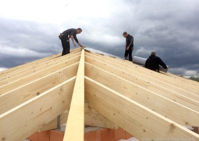 Fachgerechte Dachstuhlarbeiten aus Meisterhand